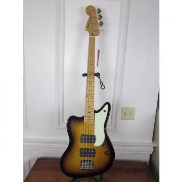 Custom Fender Reverse Jaguar Bass 2 Tone Sunburst