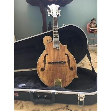 Custom Morgan Monroe Spalted Maple F Style Mandolin W/ Case