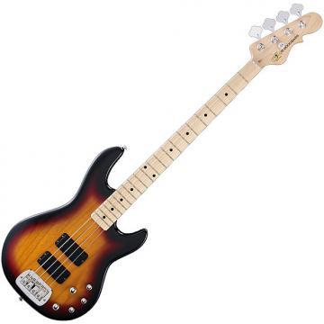 Custom G&L Tribute M-2000 Electric Bass in 3-Tone Sunburst!