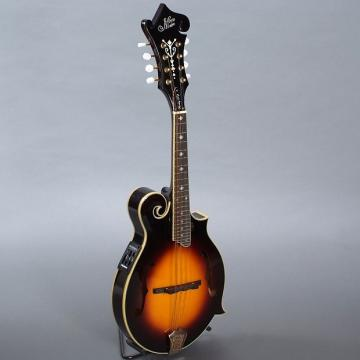 Custom Morgan Monroe Electric F Style Mandolin Tobacco W/ Case
