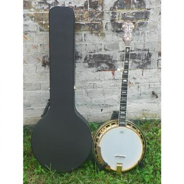 Custom Fender FB59 FB-59 Resonator 5 String Banjo w/ Case #1079 MFR Refurbished