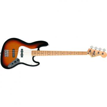 Custom Fender Standard Jazz Bass Brown Sunburst Maple Neck