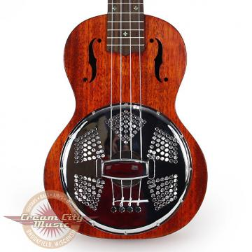 Custom Brand New Gretsch G9112 Resonator Concert Ukulele with Gigbag Demo