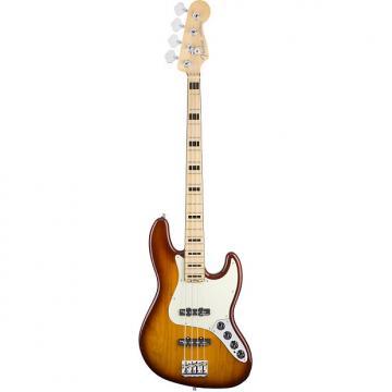 Custom Fender American Elite Jazz Bass MN in Tobacco Sunburst 2016