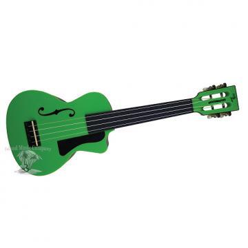 Custom Eddy Finn EF-PCGR Concert Size Ukulele Green Finish