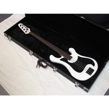 Custom DEAN Eric Bass Hillsboro 4-string BASS guitar new Classic White w/ HARD CASE