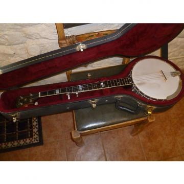 Custom Vega  Folk Pro 5 string banjo with hard case