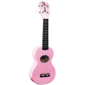 Custom Eddy Finn Minnow Uke W/Bag Pink