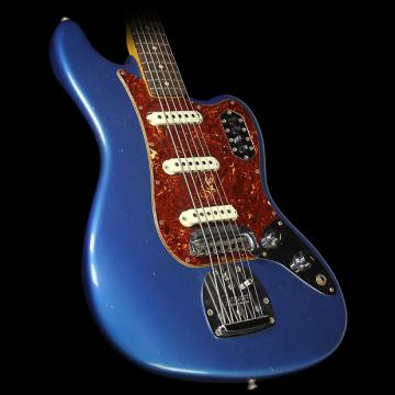 Custom Fender Custom Shop 2016 NAMM Display Bass VI Journeyman Relic Electric Bass Faded Lake Placid Blue