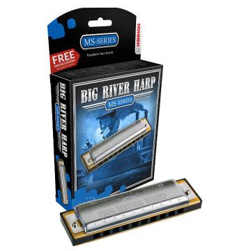Custom Hohner Big River Harmonica F#