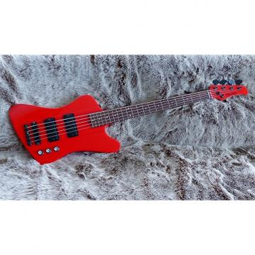 Custom Mike Lull T5 2010 T-Bird Style Bass - Stu Cook Creedence Clearwater Revival (Revisited)