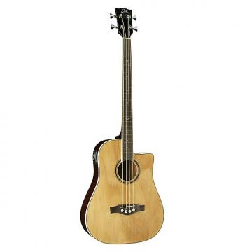 Custom Eko Guitars 06217040 NXT Series Acoustic-Electric Bass - Natural