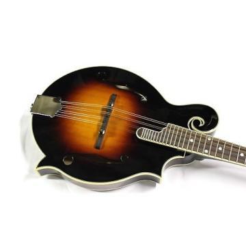 Custom Savannah Hand Carved F-Model Mandolin Spruce