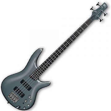 Custom Ibanez SR Series 4 String Electric Bass Guitar SR300E Metallic Gray NEW
