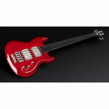 Custom Warwick Jack Bruce Signature Fretless 4-String Bass Burgundy Red High Polish