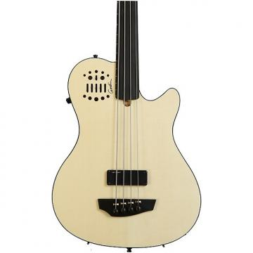 Custom Godin A4 Ultra - 4 string Fretless Natural