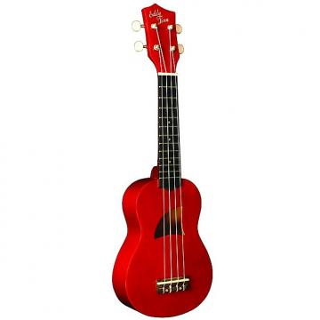 Custom Eddy Finn Ukulele Basswood Soprano Red