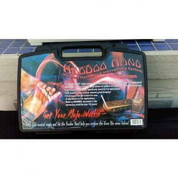 Custom Hohner Hoodoo Hand Harmonica Wireless Microphone System