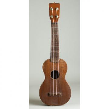 Custom C. F. Martin  Style 1 Soprano Ukulele,  c. 1922, NO CASE case.