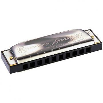 Custom Hohner Progressive Series 560 Special 20 Harmonica F#