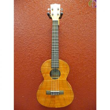 Custom Kala KA-TEME Exotic Mahogany Tenor Ukulele with Pickup