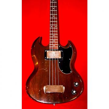 Custom Gibson EB0 1970 Walnut Mahogany Bass with Slot Headstock.. The best Gibson Bass.  Short scale. Relic