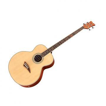 Custom Dean Acoustic-Electric Bass Guitar - Natural Satin