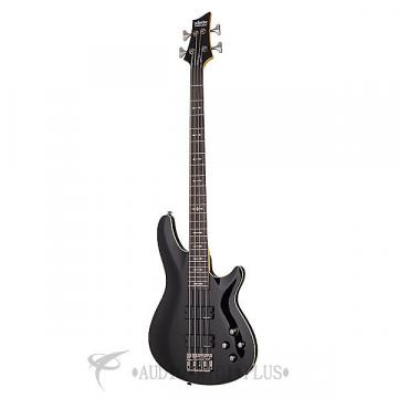 Custom Schecter Omen-4 Rosewood Fretboard Electric Bass Gloss Black - 2090 - 81544703251
