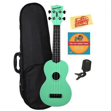 Custom Kala KA-SWB-GN Waterman Soprano Ukulele - Sea Foam Green Matte w/ Hard Case