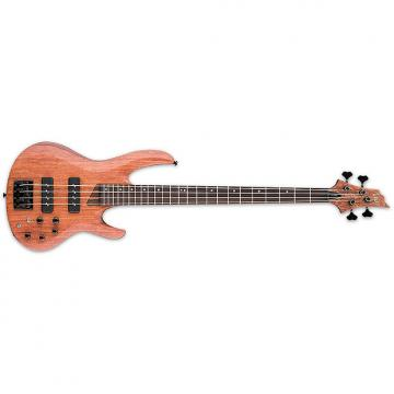 Custom ESP LTD B-1004SEB NS 4-String B-Series Bubinga Top Bass Guitar - Natural Satin Finish (LB1004SEBNS)