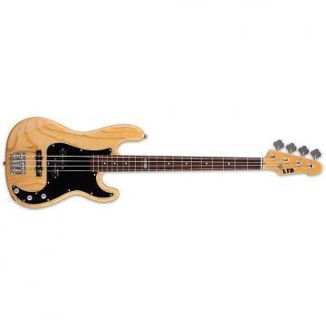 Custom ESP LTD Vintage-214 Bass Guitar Natural Gloss Ash Body 4-String w/ Rosewood Fret