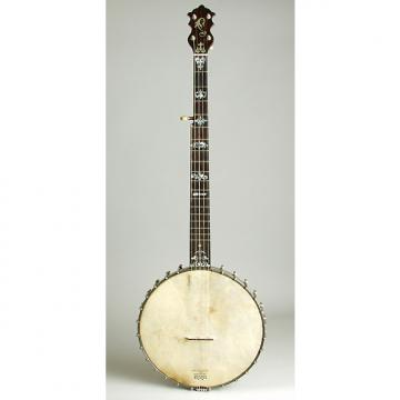 Custom Luscomb  composite with Jim DeCava Neck 5 String Banjo,  c. 1895, NO CASE case.
