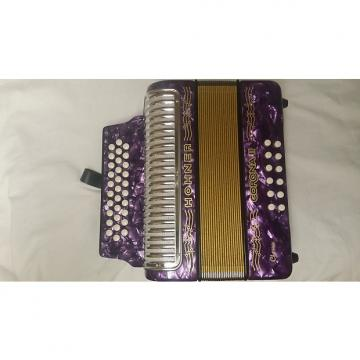 Custom Hohner Corona II Classic Purple FBE FA 3523 FBbEb Accordion Acordeon *Made in Germany* NEW WorldShip