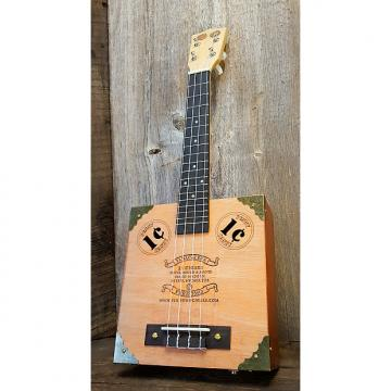 """Custom The Vaudeville Ukulele - featuring """"1¢"""" Sound Holes and Vintage Coins"""