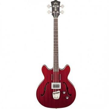 Custom Guild Newark St. Collection Starfire Bass Cherry 379-2400-866