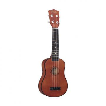 Custom Hilo 2652 Soprano Ukelele in Mahogany Finish