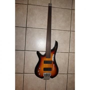 Custom Headless fretless Bass guitar,  Left handed. custom made.