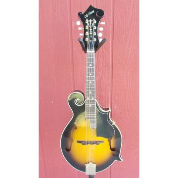 Custom Old Hickory F-Style Mandolin 2 Tone Sunburst TKL Case