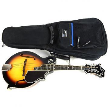 Custom Epiphone MM-50 Vintage Sunburst VS F-Style Mandolin with Gig Bag MM-50/VS MM50 MM 50