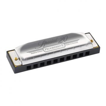 Custom Hohner B Special 20 Diatonic Harmonica
