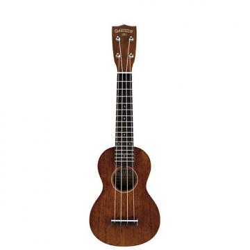 Custom Gretsch Guitars G9100 Soprano Standard Ukulele Roots Collection Mahogany Stain Soprano Ukulele with Gig Bag