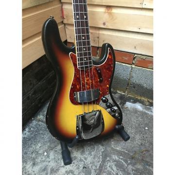Custom Fender Jazz 1966 3 Tone Sunburst
