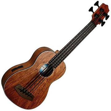 Custom Kala A/E U-Bass w/ Gig Bag, Bubinga UBASS-BNGA-FSWBAG