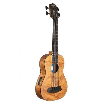 Custom Kala U-Bass - Exotic Mahogany, UBASS-EM-FSWBAG