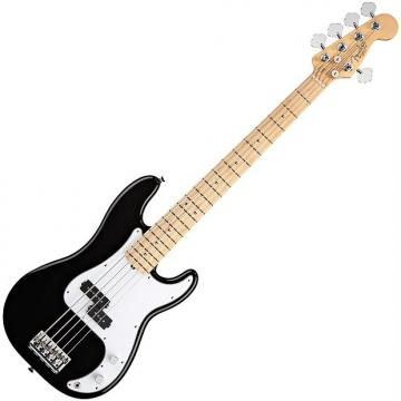 Custom Fender American Standard Precision Bass® V - Five String, Black, 0193652706