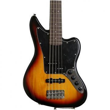 Custom Squier Vintage Modified Jaguar Bass V Special - 3-Color Sunburst