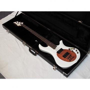 Custom TRABEN Neo 4-string BASS guitar NEW Aged White w/ HARD CASE - Bronze
