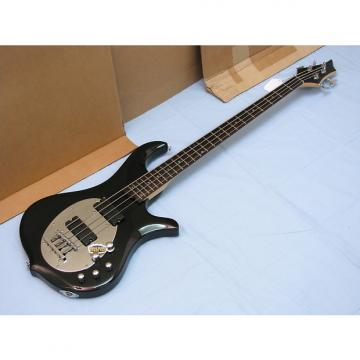 Custom TRABEN Neo 4-string BASS guitar NEW Gloss Black - Active Preamp - Basswood Body