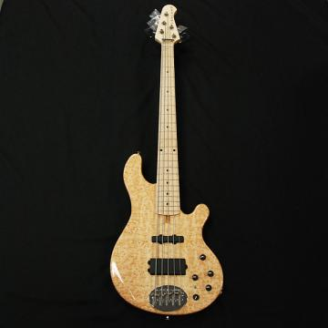 Custom Lakland 55-94 Deluxe Custom Birdseye Maple 5 String Bass