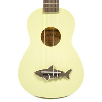 Custom Makala Shark Composite Soprano Ukulele Yellow
